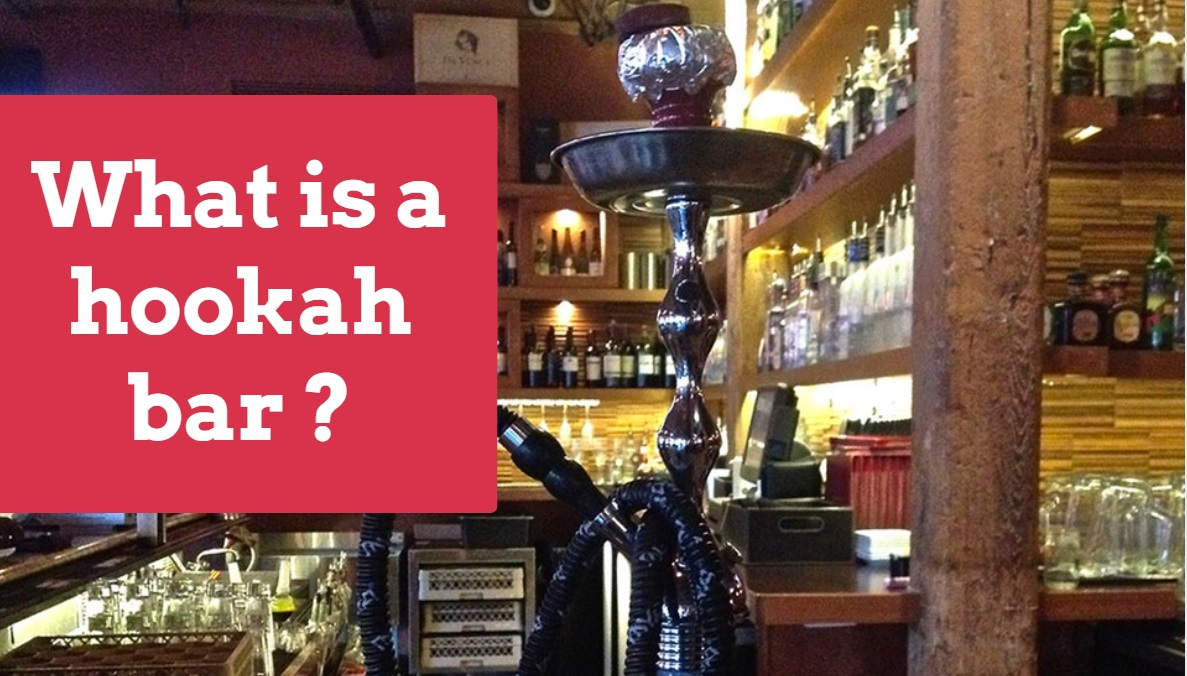 What is a hookah bar or lounge