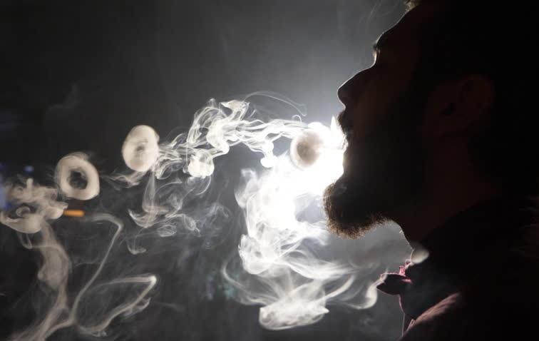 hookah or shisha puff